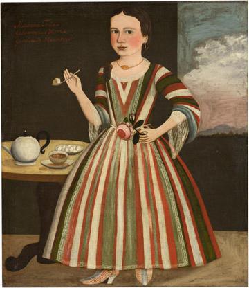 Gansevoort Limner, Portrait of Susanna Truax, c.1730, National Gallery of Art, Washington D.C.